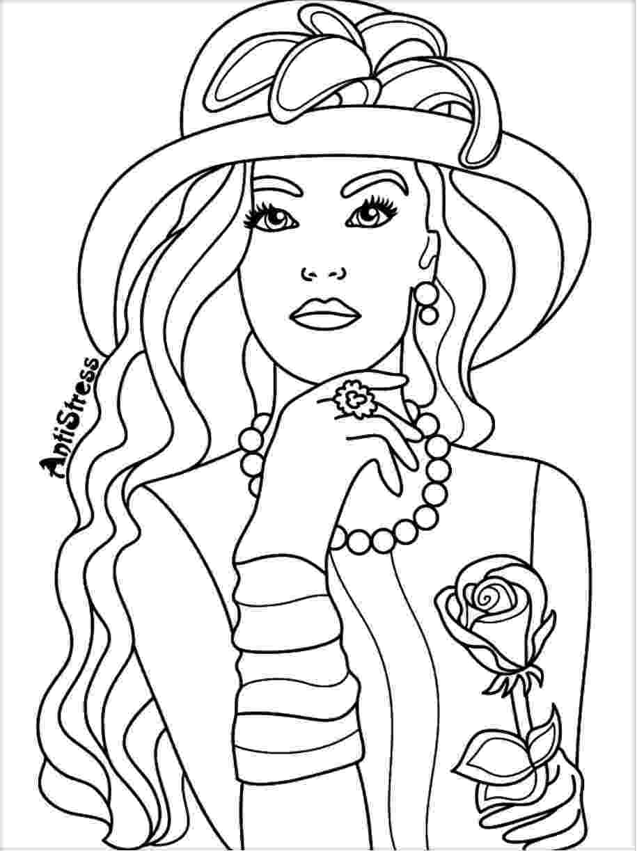 people coloring sheets coloring page for adults blank coloring pages adult sheets coloring people