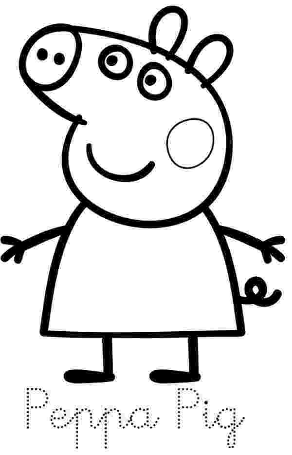 peppa pig coloring baby potatoes family of peppa pig coloring peppa pig
