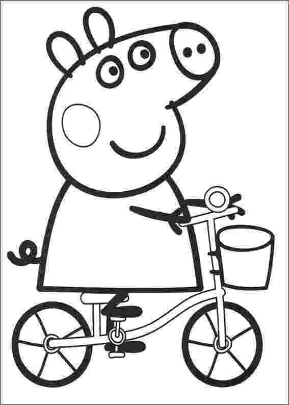 peppa pig coloring book peppa pig family in car coloring pages learn colors with coloring pig book peppa