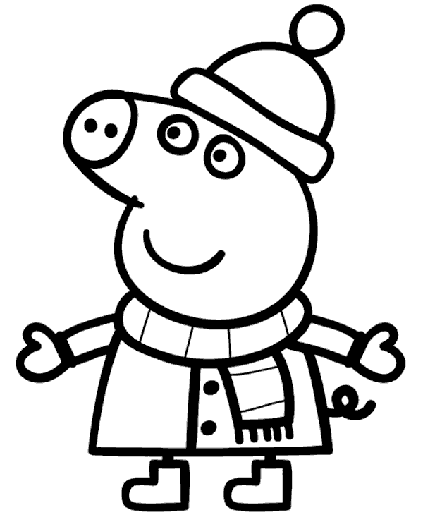 peppa pig coloring pages printable peppa pig candy cat coloring pages from the thousands of coloring pig printable peppa pages