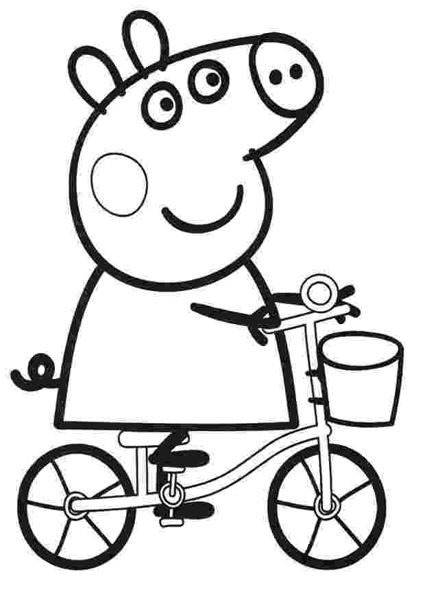 peppa pig colouring printables peppa pig coloring pages to print for free and color printables colouring peppa pig
