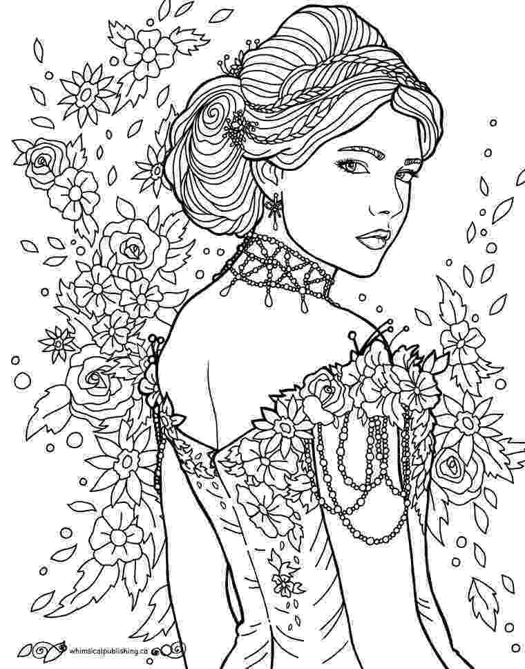 person coloring page pin by desiree on hair bow people coloring pages page coloring person