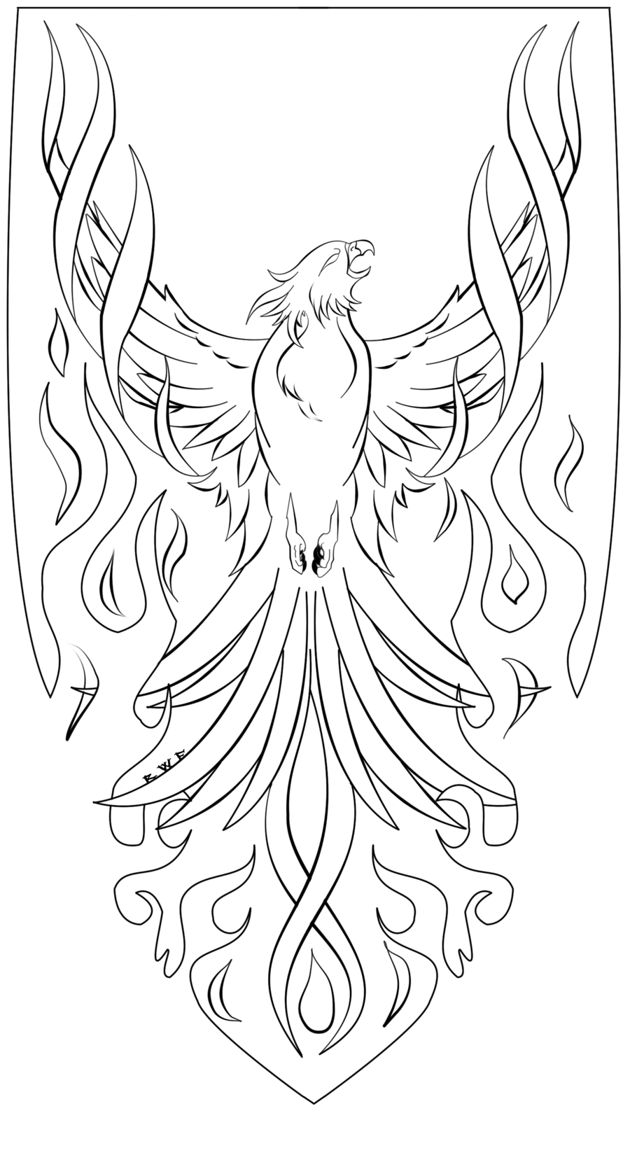 phoenix coloring pages phoenix coloring pages to download and print for free coloring phoenix pages