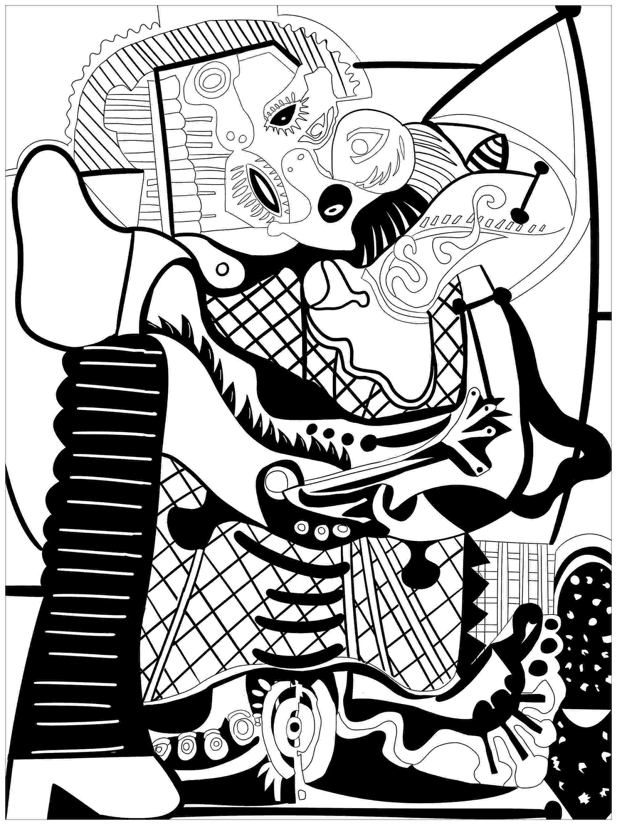picasso coloring book coloring pages still life coloring home picasso book coloring