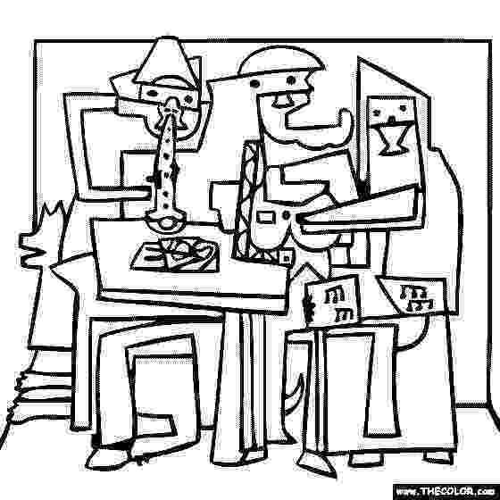 picasso coloring book free online coloring pages thecolor picasso coloring book