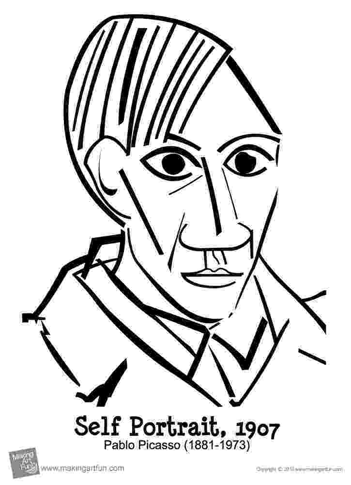 picasso coloring book pablo picasso freebies thecreativestack picasso coloring book
