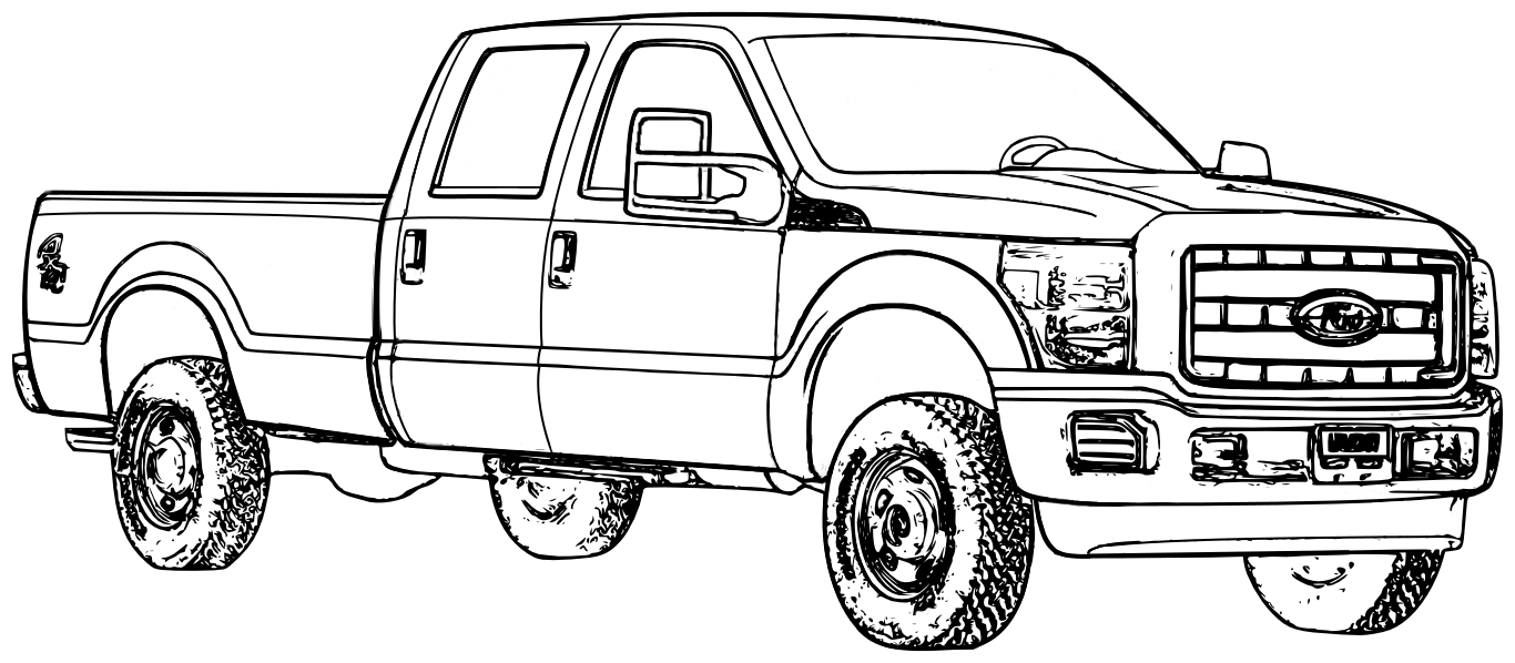 pickup truck coloring pages ford f150 pickup truck coloring page free printable pages coloring pickup truck
