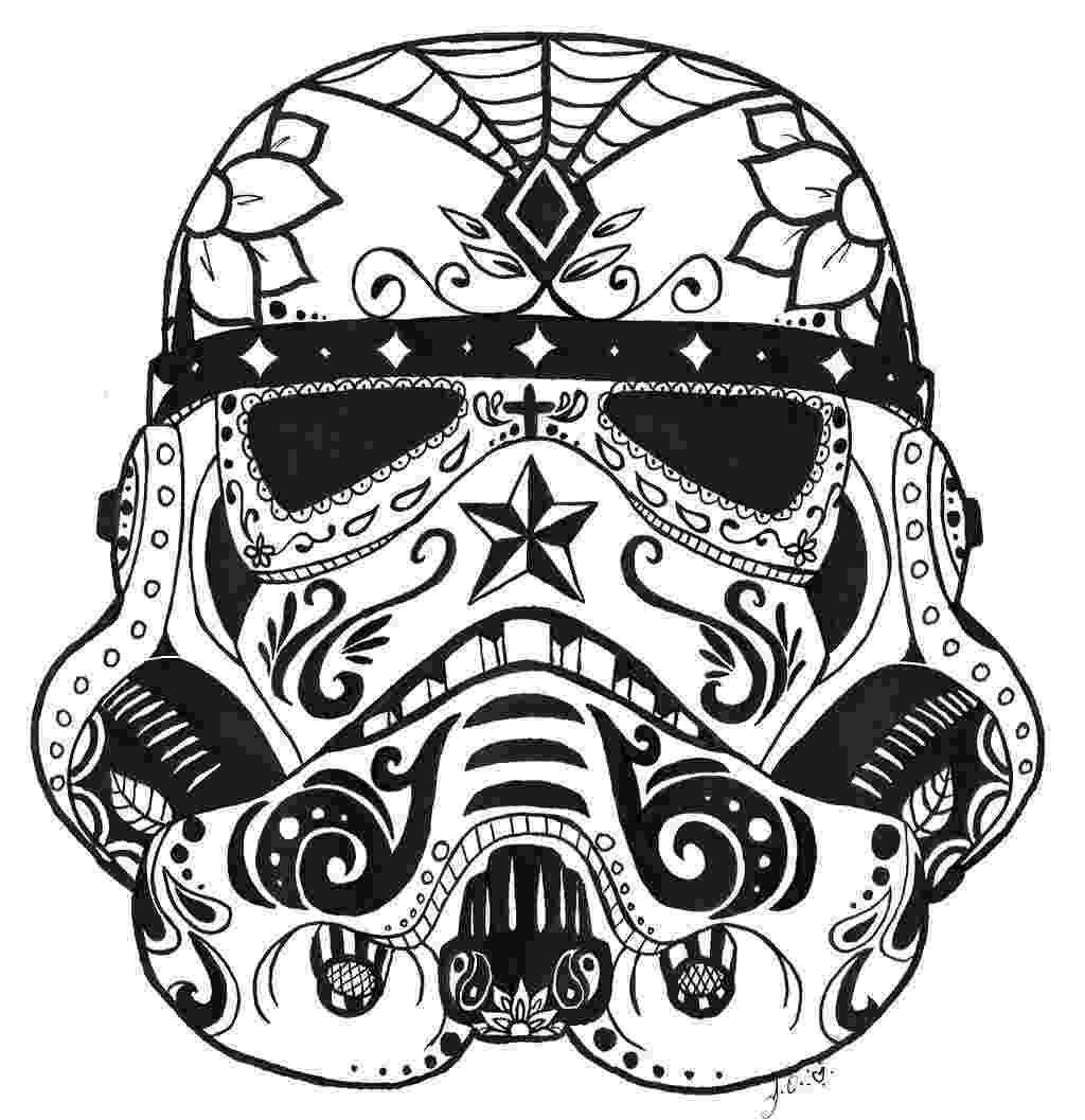 pics of sugar skulls icolor quotsugar skullsquot stormtrooper idées tattoos skulls of pics sugar