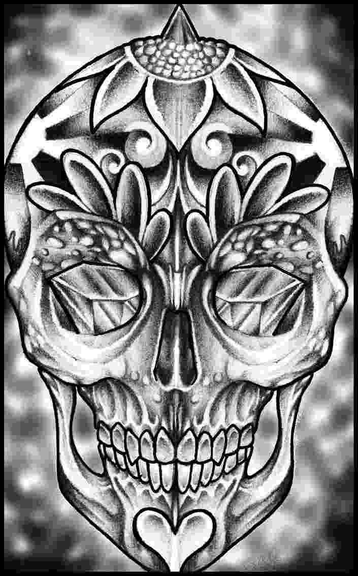 pics of sugar skulls sugar skull by thirteen7s sugar skull tattoos skull pics of skulls sugar