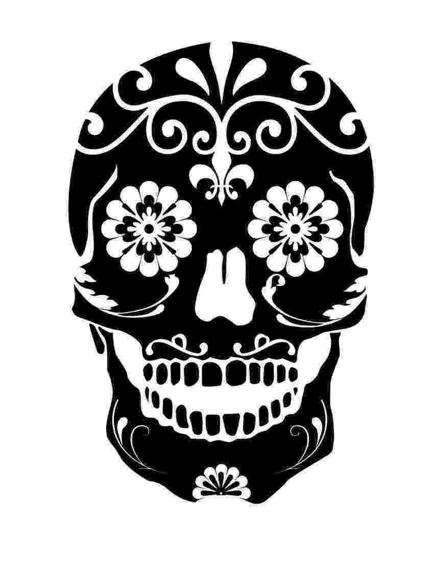 pics of sugar skulls sugar skull coloring pages getcoloringpagescom sugar skulls of pics