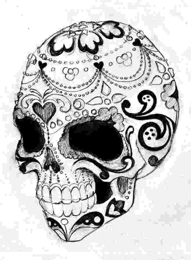 pics of sugar skulls sugar skull tattoo stencil 19 dia de los muertos pics sugar of skulls