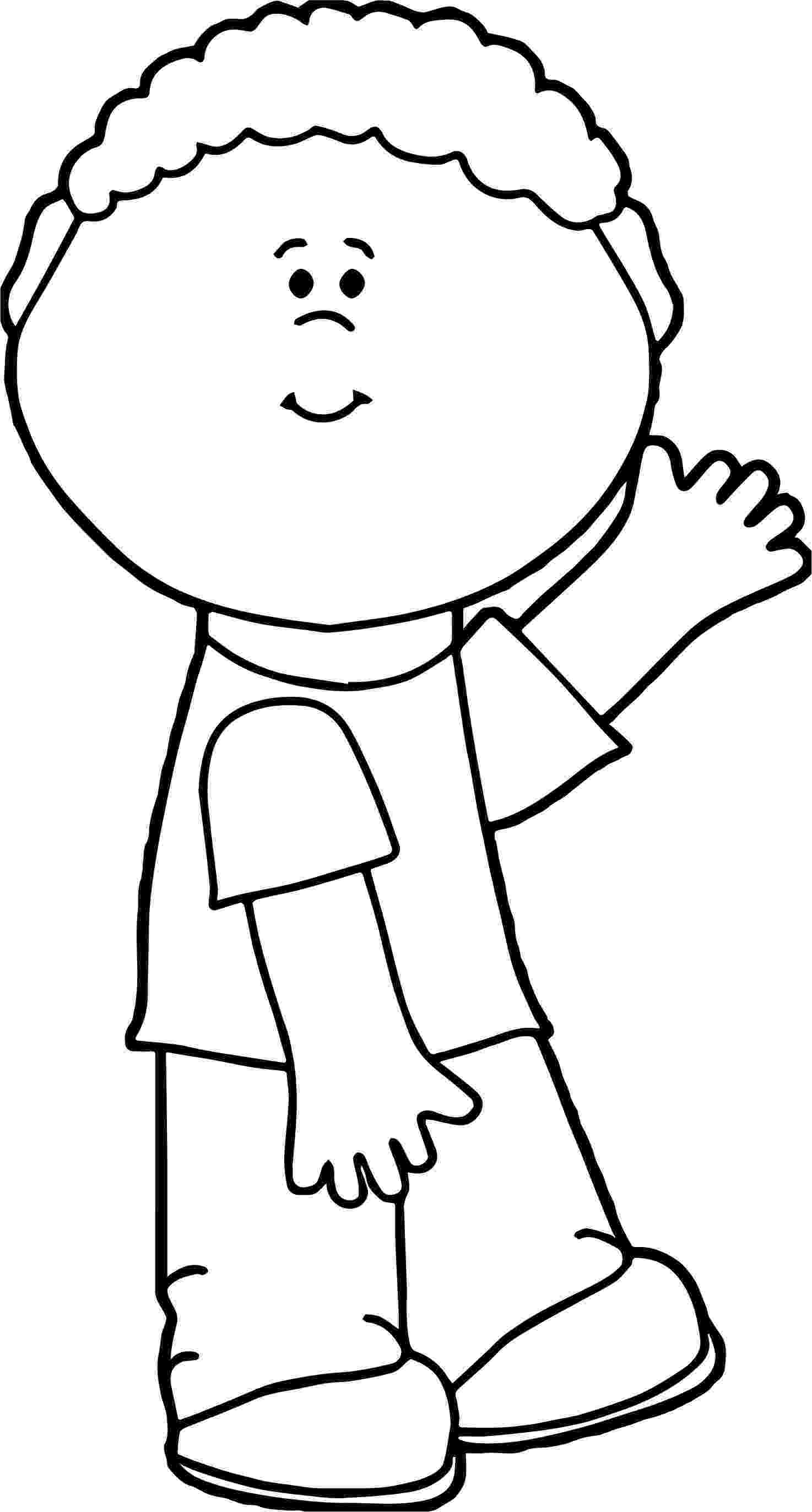 picture of a boy to color coloring page boy39s face face outline coloring pages boy picture of color a to