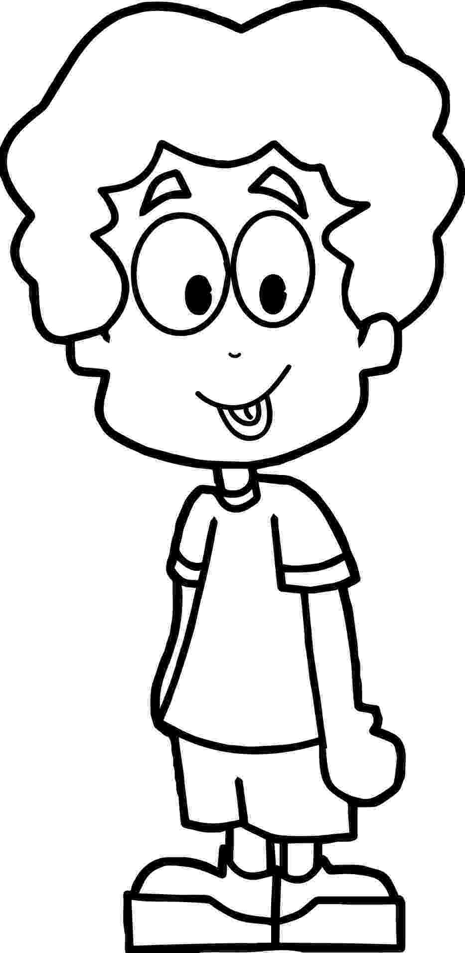 picture of a boy to color cute little boy holding seedling coloring page free to a of picture boy color
