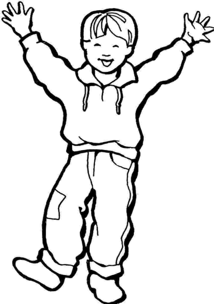 picture of a boy to color free printable boy coloring pages for kids boy a color of picture to