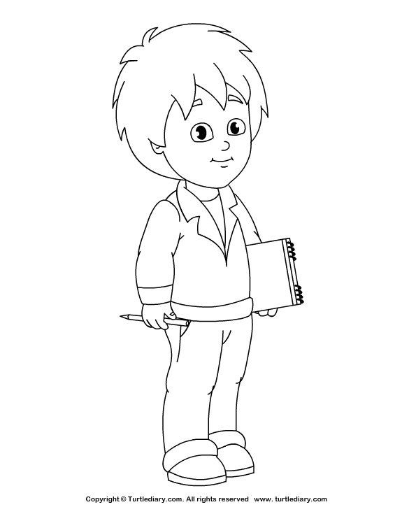 picture of a boy to color little boy coloring pages of boy color picture to a