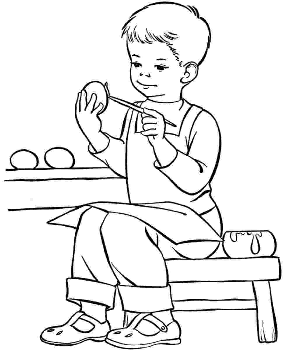 picture of a boy to color people boy coloring page wecoloringpagecom color boy a of picture to