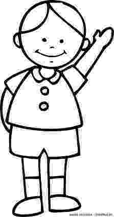 picture of a boy to color school boy coloring page free printable coloring pages boy to of picture color a