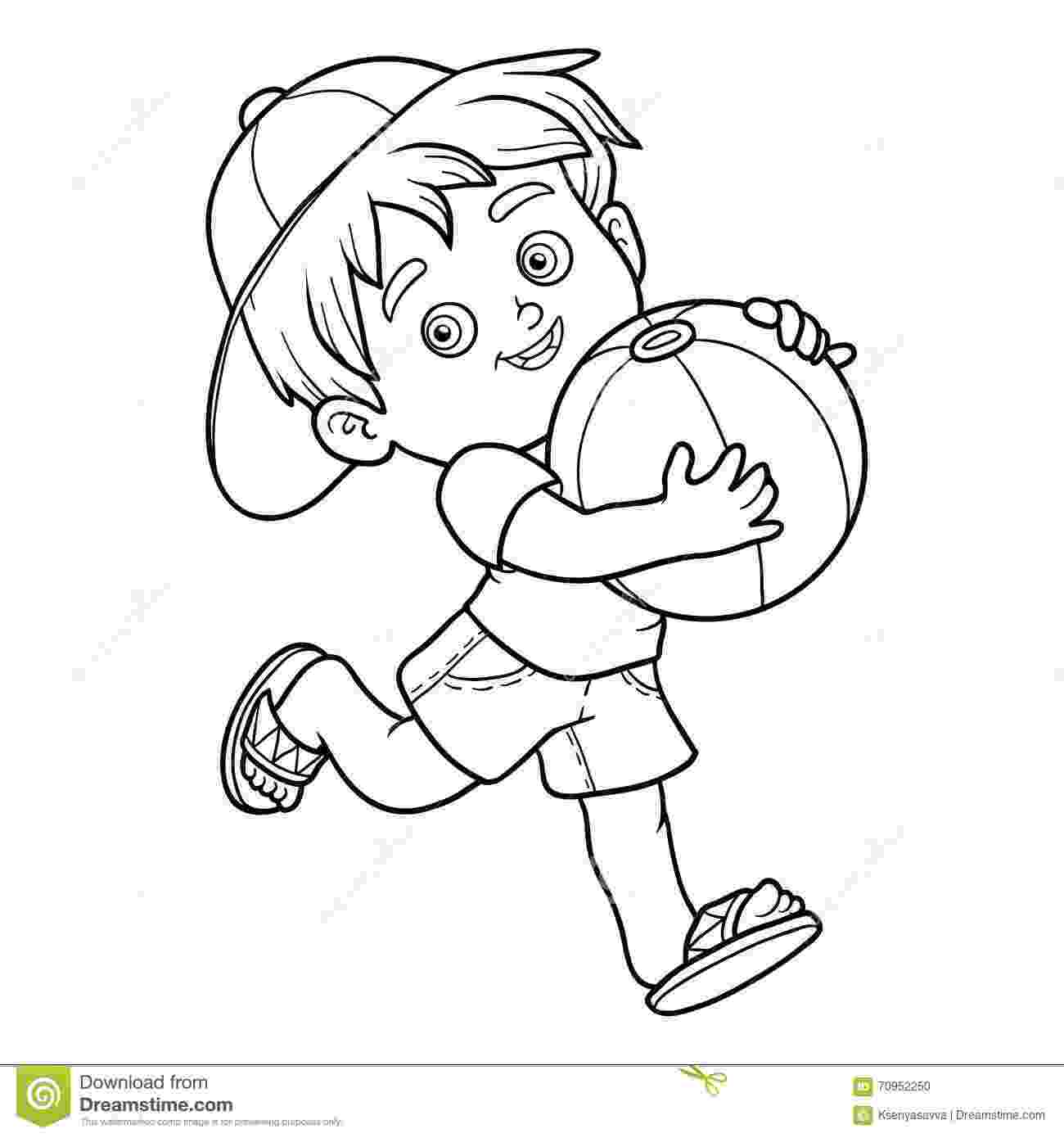 picture of a boy to color simple boys coloring pages boy color picture a to of