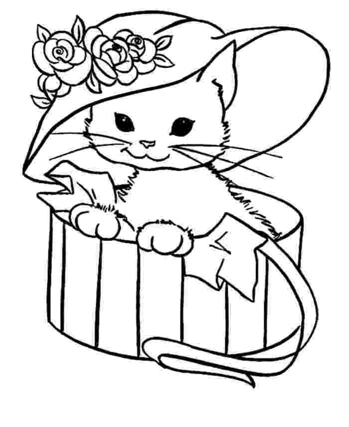 picture of a cat to color cat coloring pages 360coloringpages of picture to cat color a