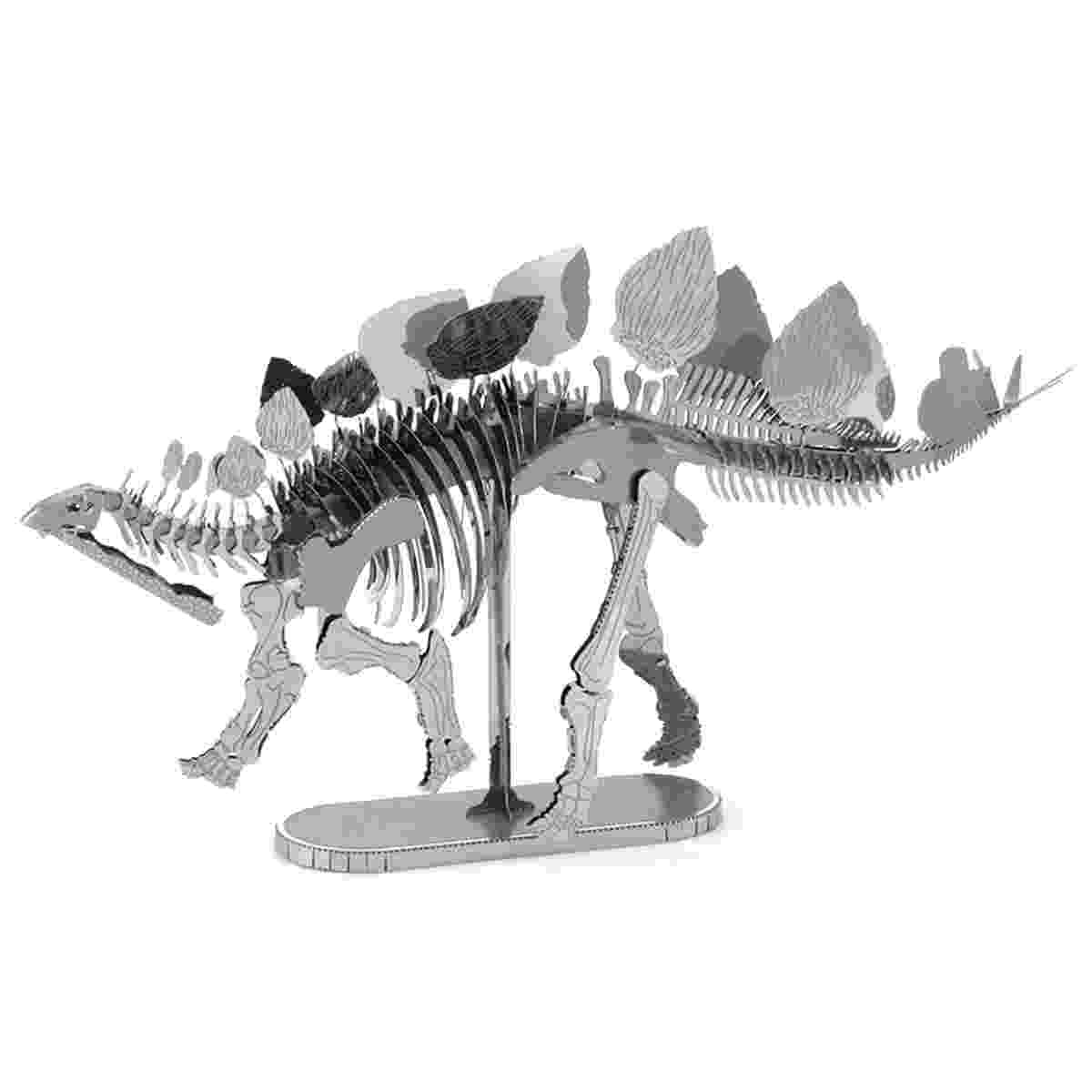 picture of a stegosaurus fascinations metal earth 3d metal model diy kits metal picture stegosaurus a of