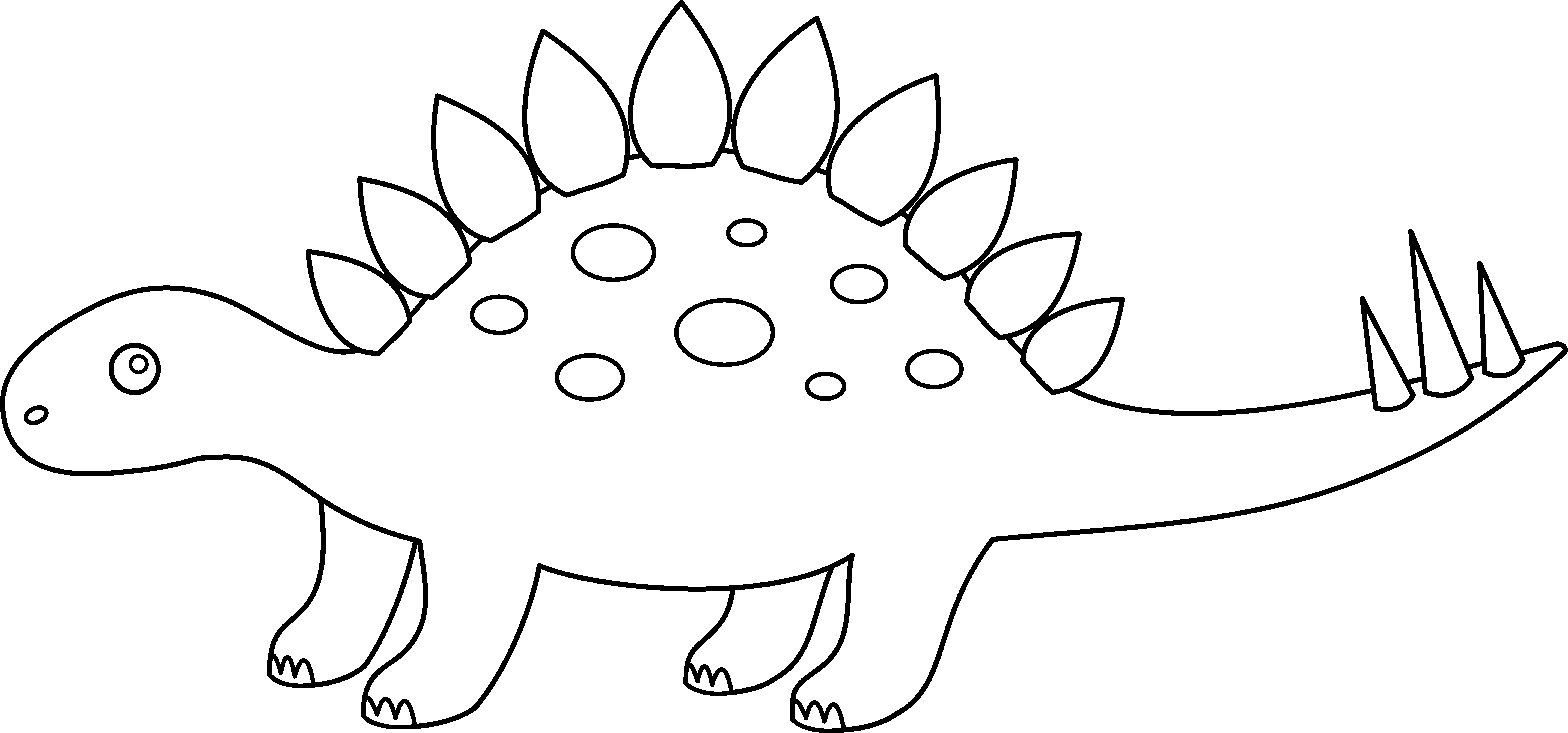 picture of a stegosaurus free stegosaurus outline download free clip art free a of picture stegosaurus