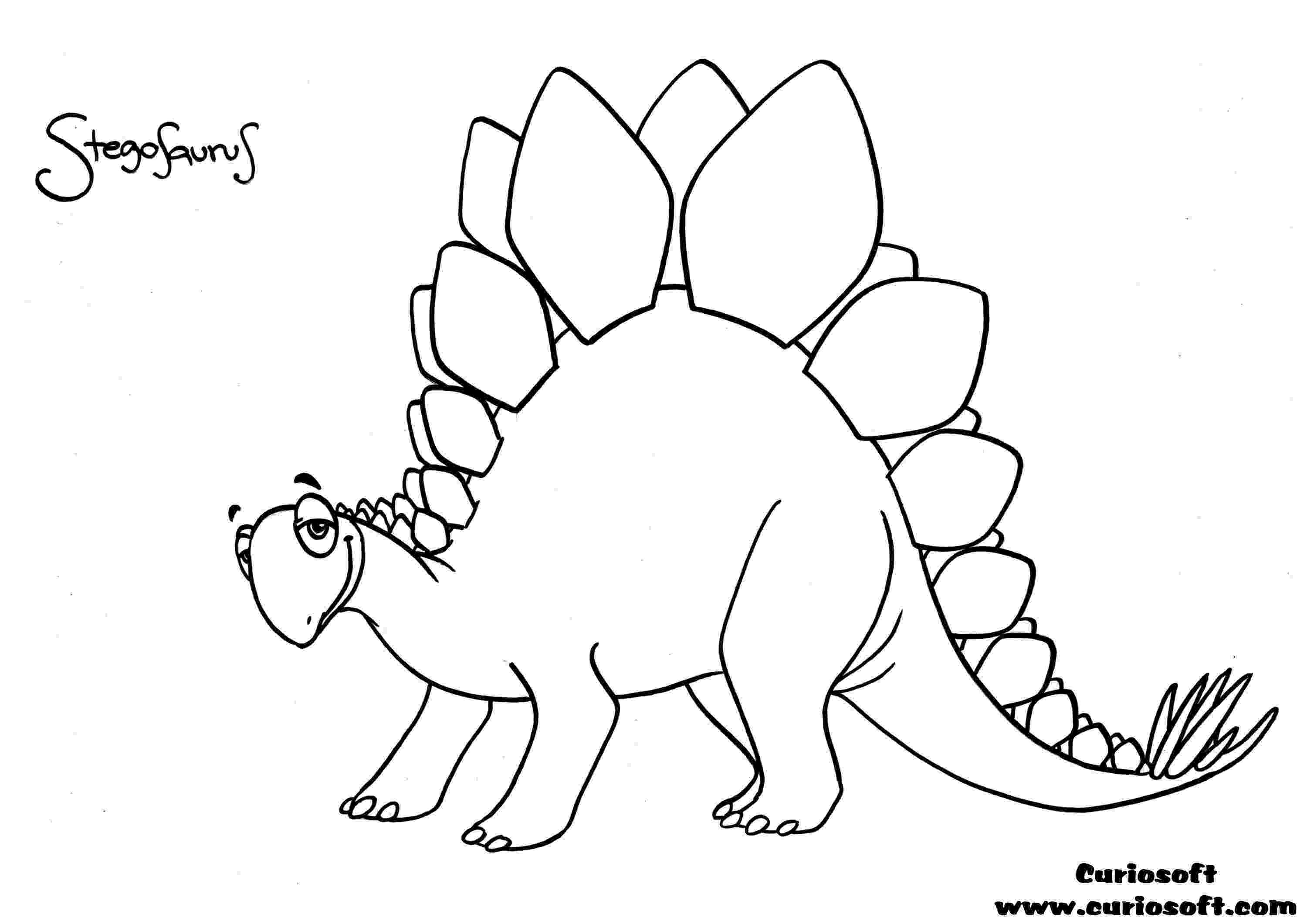 picture of a stegosaurus printable stegosaurus dinosaur coloring pages for kidsfree a of stegosaurus picture