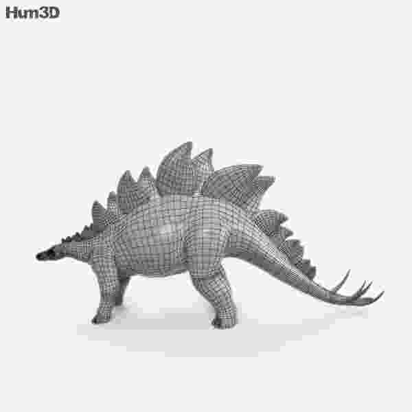 picture of a stegosaurus stegosaurus hd 3d model hum3d of a picture stegosaurus