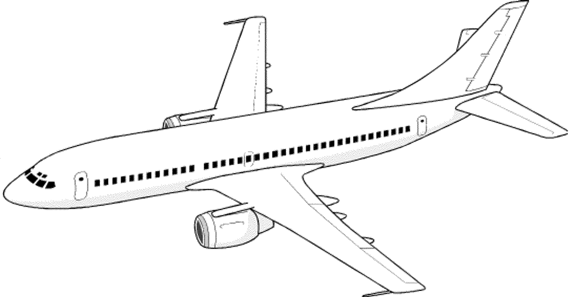 picture of an airplane to color airplane coloring pages getcoloringpagescom to color an of picture airplane