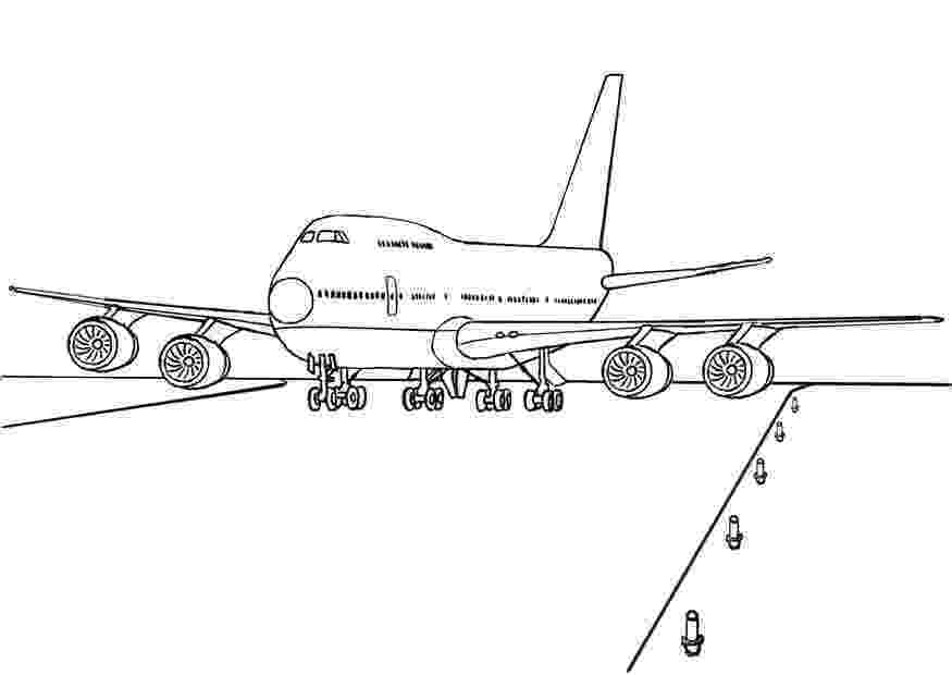 picture of an airplane to color free printable airplane coloring pages for kids airplane picture to of color an