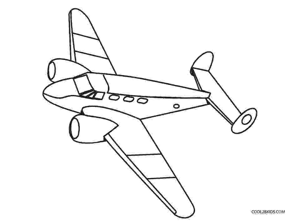picture of an airplane to color free printable airplane coloring pages for kids cool2bkids an to airplane picture color of