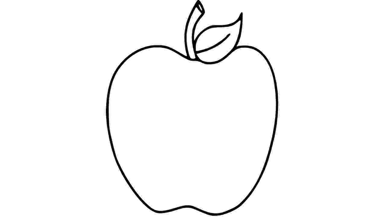 picture of apples apple coloring page free printable coloring pages of apples picture