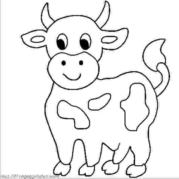 picture of cow for colouring coloring pages of a cow coloring home of colouring cow picture for