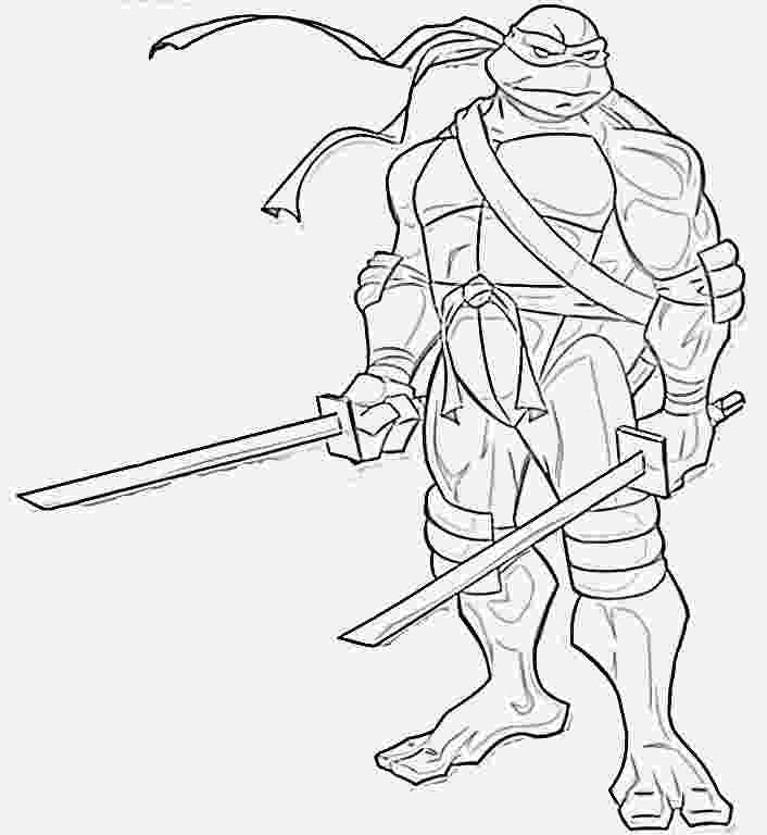 picture of ninja turtle paper coloring pages ninja turtle leonardo coloring pages ninja picture of turtle