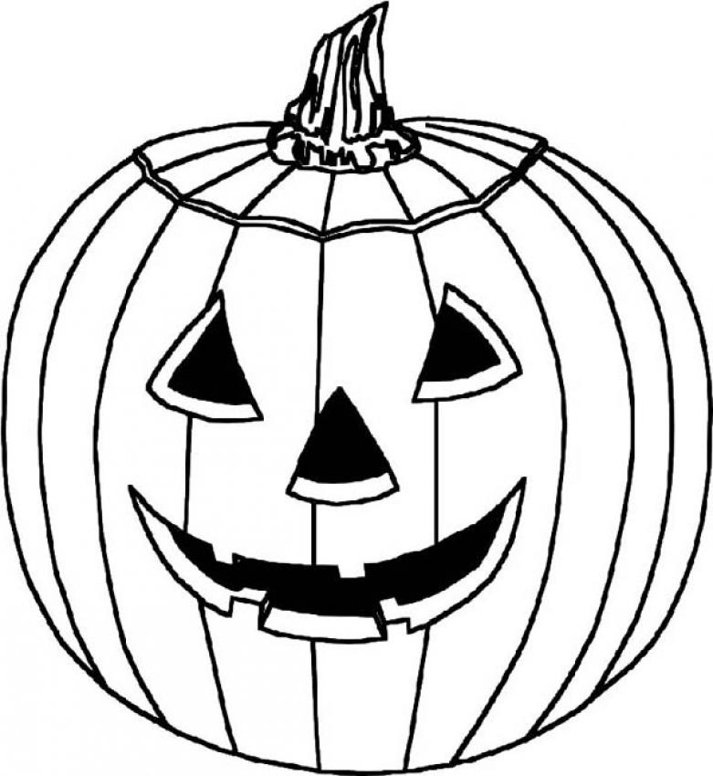 picture of pumpkin to color free printable pumpkin coloring pages for kids to of picture pumpkin color