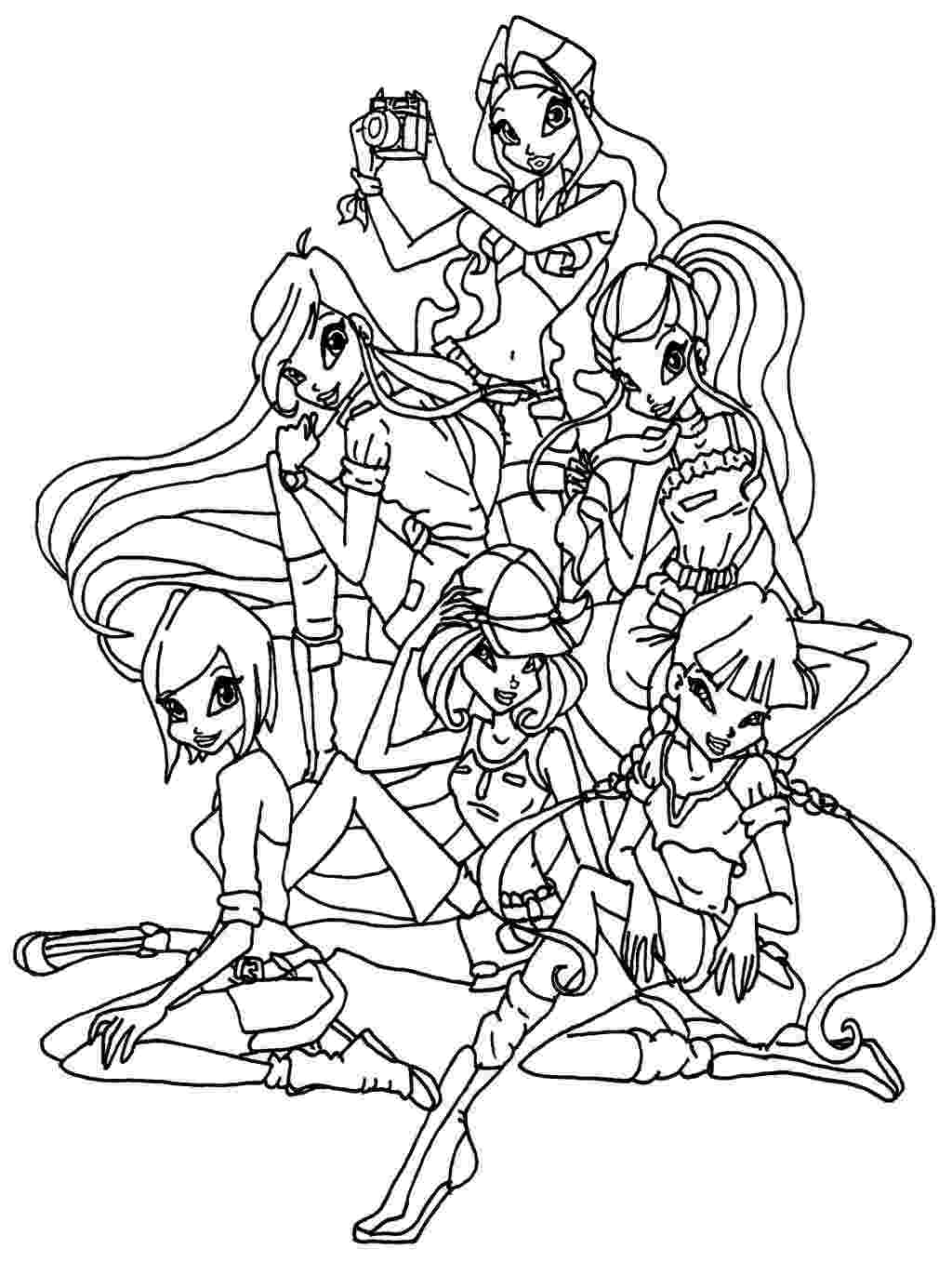 picture winx club free printable winx club coloring pages for kids club winx picture