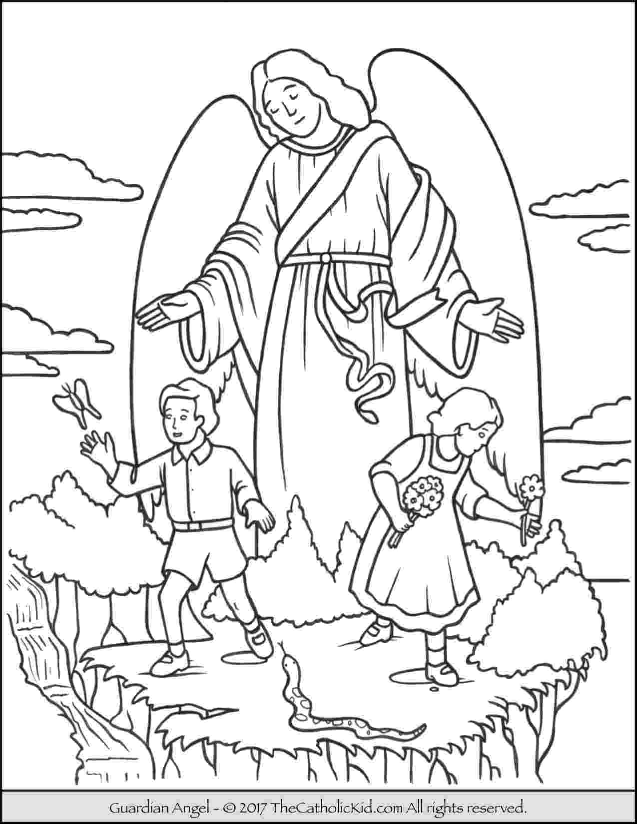 pictures of angels to color free printable angel coloring pages for kids angels to pictures of color