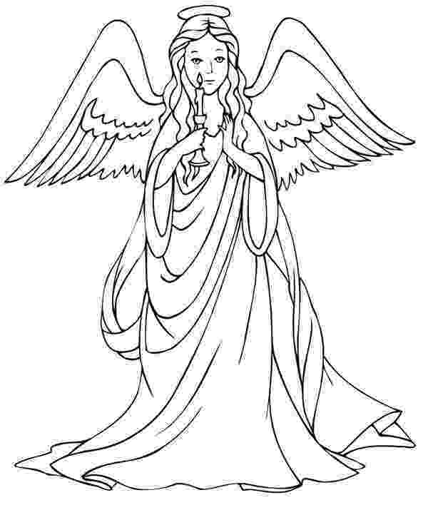 pictures of angels to color the big christian family jul dec of color pictures angels to