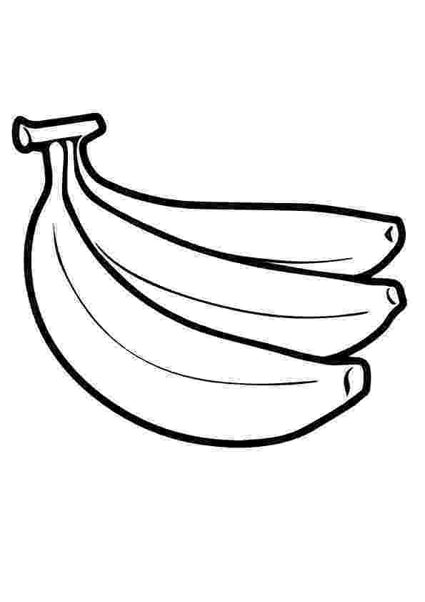 pictures of bananas to color banana coloring pages to download and print for free of to bananas color pictures