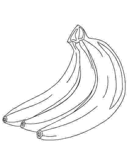 pictures of bananas to color three banana coloring pages download free three banana color pictures to bananas of