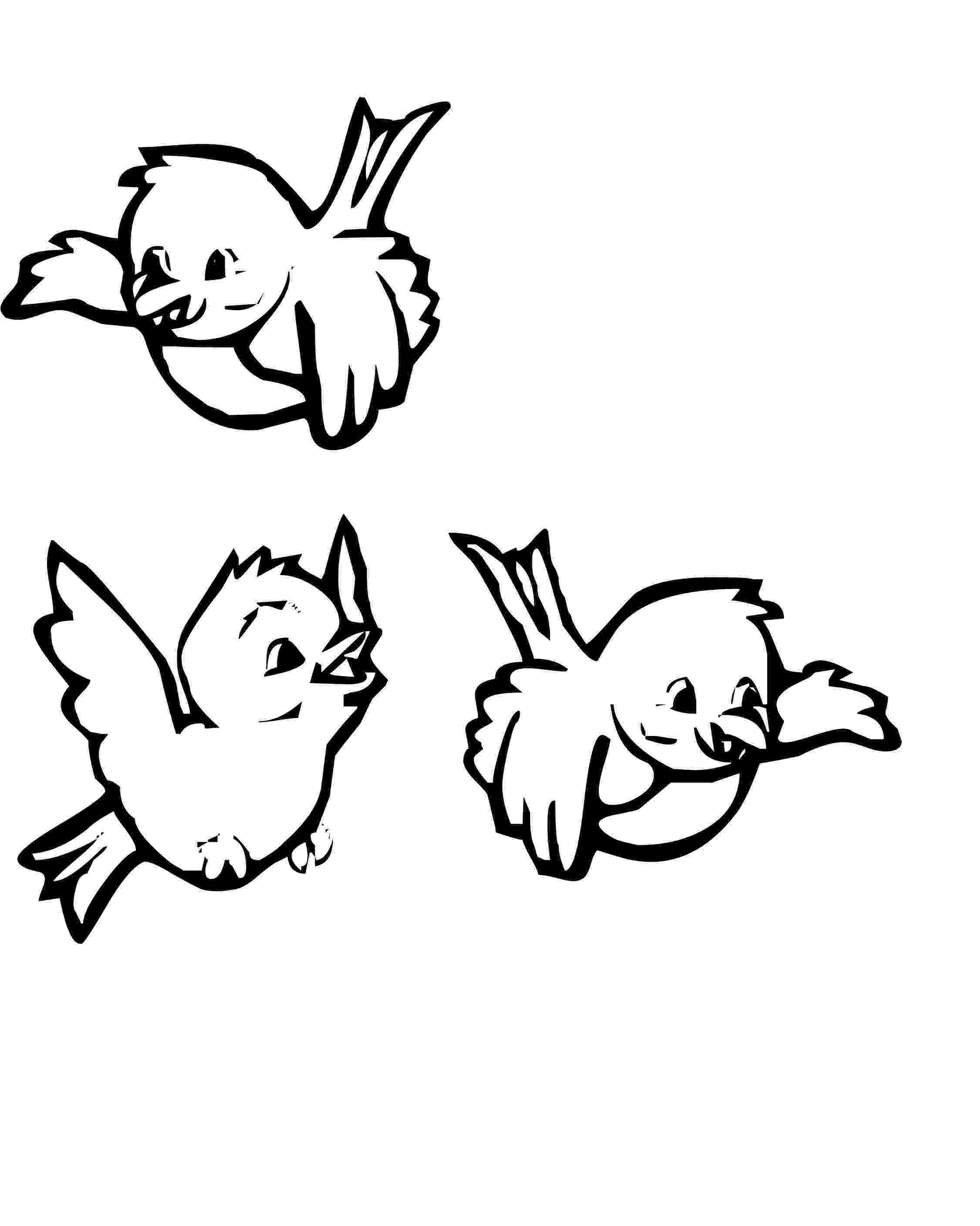 pictures of birds to colour three cute birds coloring pages with images bird of birds to pictures colour
