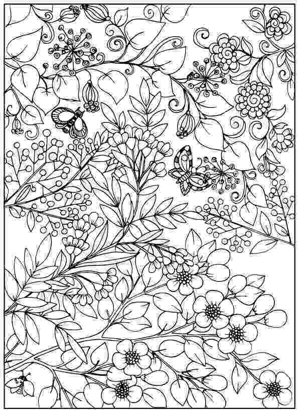 pictures of flowers coloring pages adult coloring pages flowers to download and print for free flowers pages pictures of coloring