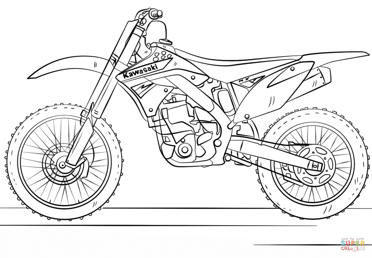 pictures of kids dirt bikes motocross coloring pages to download and print for free of dirt kids bikes pictures
