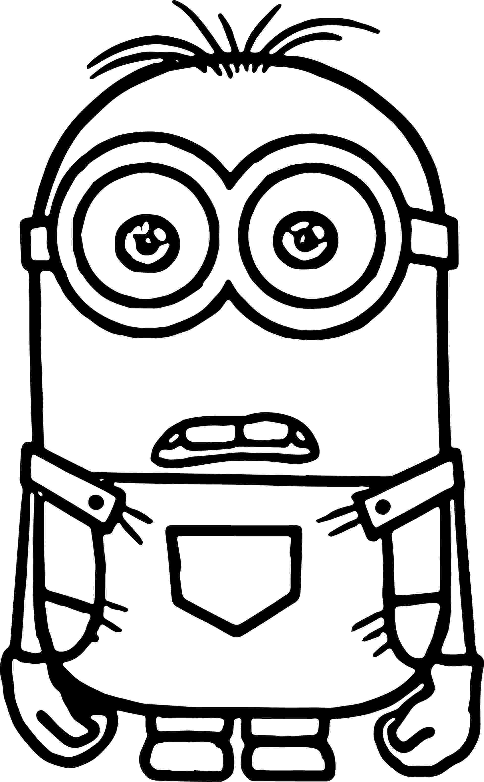pictures of minions to color minion very cute coloring page minion coloring pages pictures minions color of to