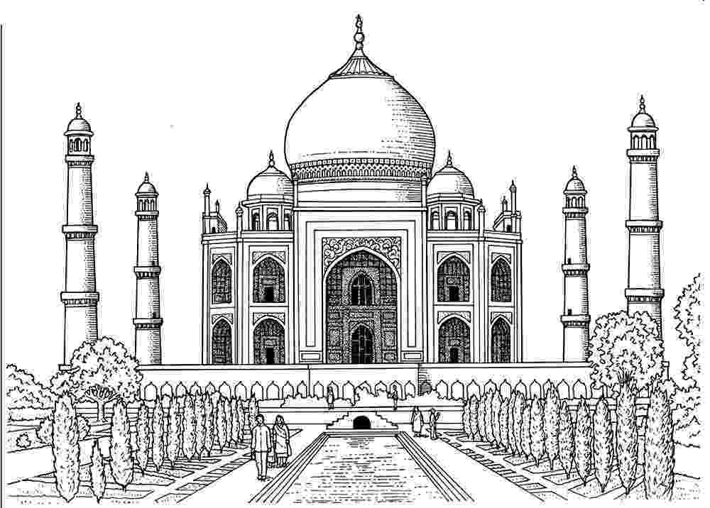 pictures of taj mahal to draw random mahal to pictures of draw taj