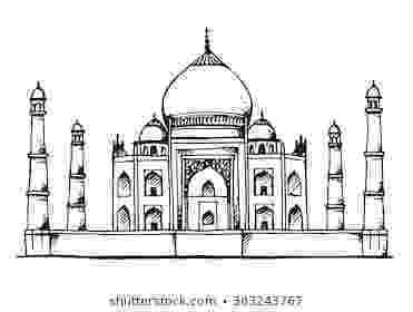 pictures of taj mahal to draw taj mahal drawing art drawing pinterest taj mahal mahal draw taj pictures to of