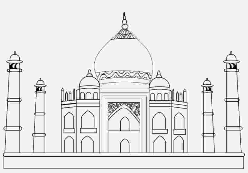 pictures of taj mahal to draw taj mahal drawing at paintingvalleycom explore draw to of taj pictures mahal