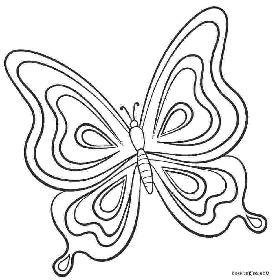 pictures to color of butterflies butterfly coloring pages team colors to color butterflies of pictures