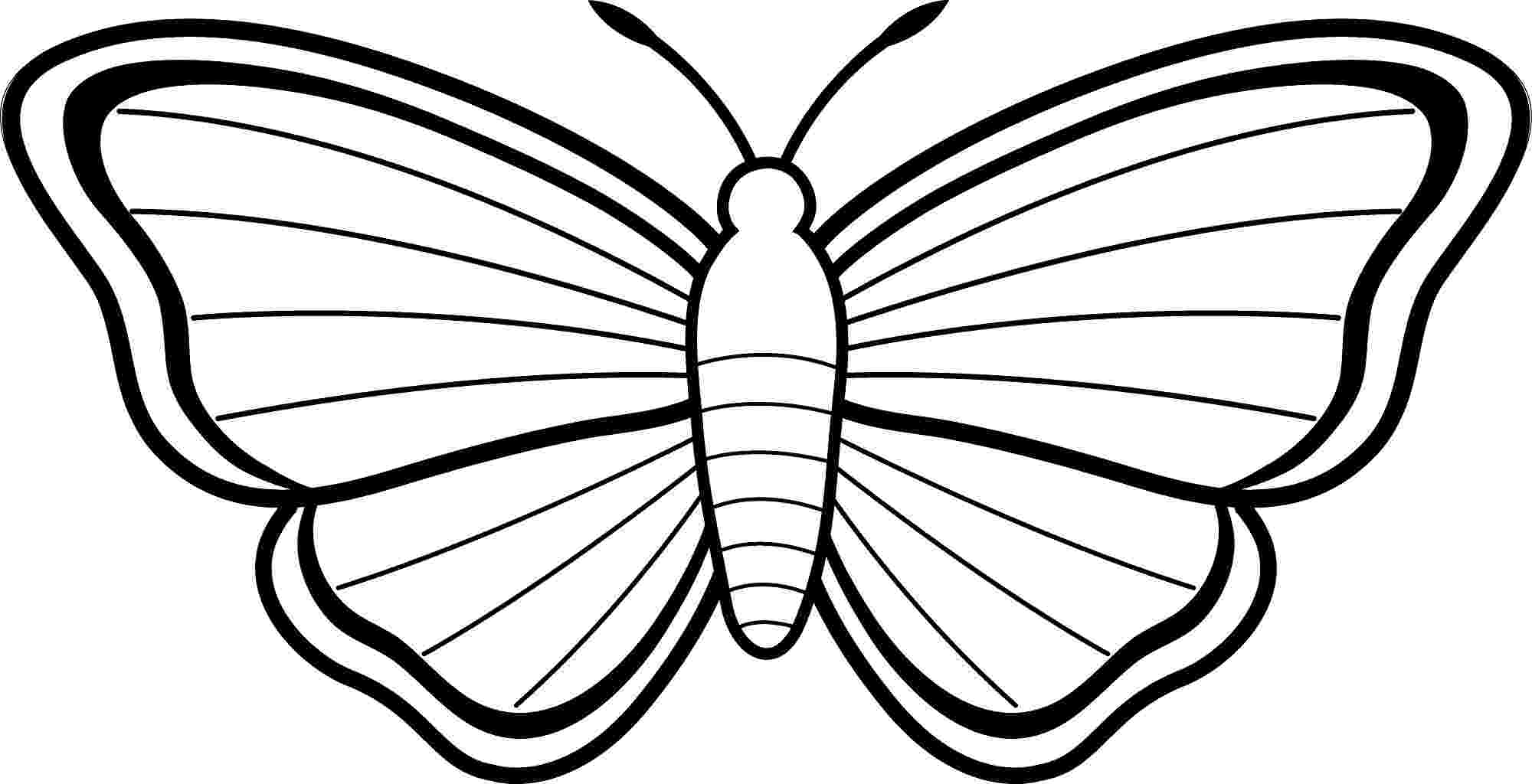 pictures to color of butterflies free printable butterfly coloring pages for kids butterflies pictures color to of