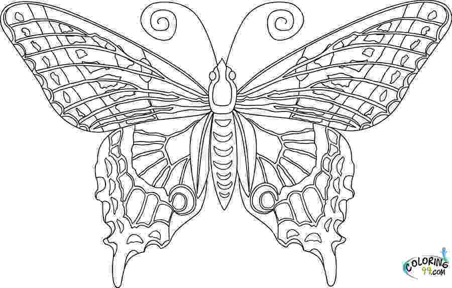 pictures to color of butterflies simple butterfly coloring pages getcoloringpagescom butterflies pictures to color of
