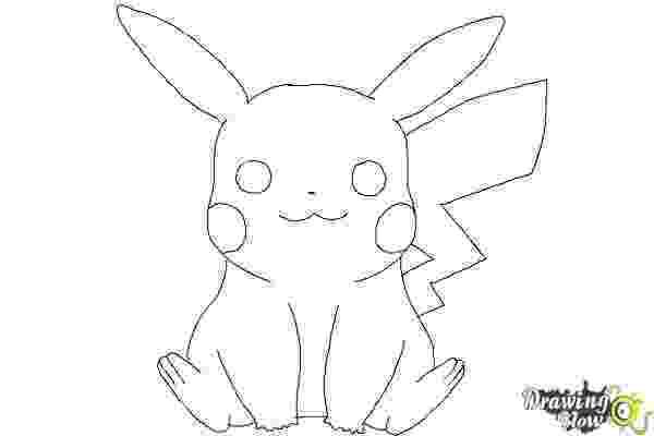 pikachu sketch cute pikachu drawing free download on clipartmag pikachu sketch